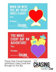 free valentines cards some s day free printable travel inspired cards