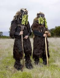 creative costumes of still practiced pagan rituals of europe 19