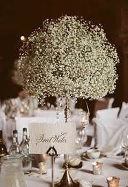 baby breath centerpieces baby s breath wedding details mywedding