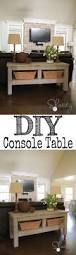 Decorating Sofa Table Behind Couch by 30 Diy Sofa Console Table Tutorial Diy Sofa Console Tables And