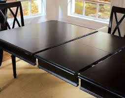 circle table that gets bigger dining table with leaf extension round table with leaf extension