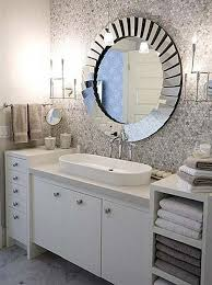 Stainless Steel Bathroom Mirror by Bathroom Mirror Ideas On Wall Three White Shade Sconces Stainless