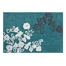bathroom nice turquoise floral bath mats to decorate green nice turquoise floral bath mats to decorate green bathroom decor tips