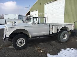 old military jeep truck vintage military 1967 kaiser jeep 1 1 4 ton m715 truck for sale