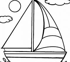 Boat Coloring Coloring Pages Adresebitkisel