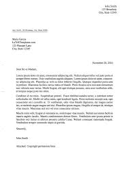 Business Letter Full Block Style Sample by Latex Templates Formal Letters