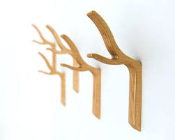 decorative single wall hooks twig modern wall hook twiggy series