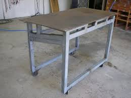 diy portable welding table welding table whats a cheap one to make or buy the garage