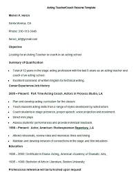 Coaching Resume Samples by 100 Coach Resume Template Gervais Johnson Agile Coach