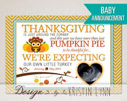the 25 best thanksgiving baby announcement ideas on