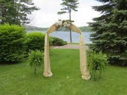 wedding arches decorated with burlap the 25 best burlap wedding arch ideas on rustic