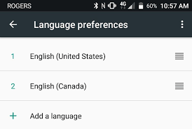 add language to android use us language with assistant even if you re outside