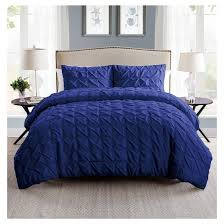 madison pinch pleat duvet cover set vcny target
