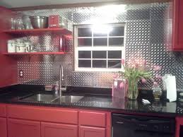 Aluminum Backsplash Kitchen A Koffler Customer Used Our Diamond Plate Panels To Make A Cool