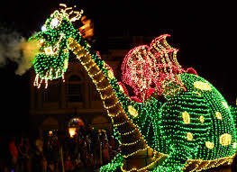 light up your disney at the electrical parade