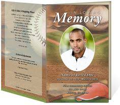 Where To Print Funeral Programs Seraphina Preprinted Title Letter Single Funeral Programs
