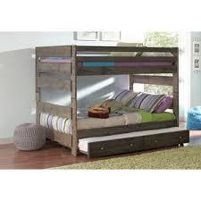 modern full bunk loft beds allmodern