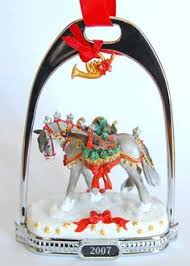 breyer stirrup ornament 12th in series keah wish list