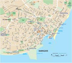 maps of margate broadstairs and ramsgate