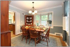 Excellent Paint Color Ideas For Dining Room With Chair Rail  For - Painting dining room chairs