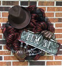 24 deco mesh nightmare on elm street freddy halloween