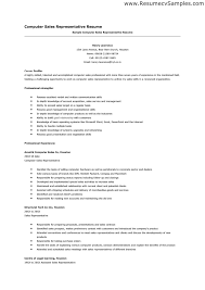 Retail Sales Resume Template Resume Template Sales Marketing Account Executive Resume Example