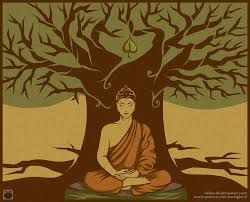 buddha the bodhi tree by villian kucingkecil on deviantart
