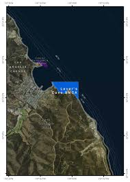 San Diego Casinos Map by Southern California Marine Protected Areas