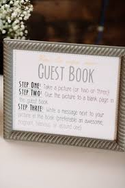 guest sign in books idea for guest book leave out an iphone cube printer or a
