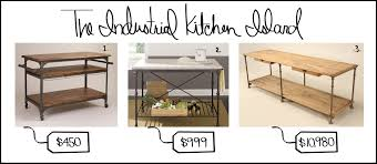 industrial style kitchen island industrial kitchen island dzqxh
