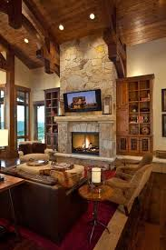 rustic livingroom stunning rustic living room design ideas