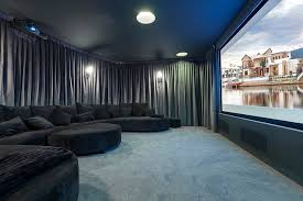 Home Theater Design Los Angeles Central Beach House Contemporary Home Theater Los Angeles