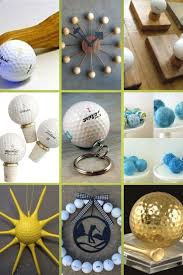 260 best golf ball crafts images on pinterest golf ball crafts