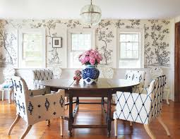 21 famous interior designers decorate a dining room