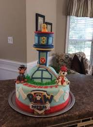 paw patrol tower cake totally caked