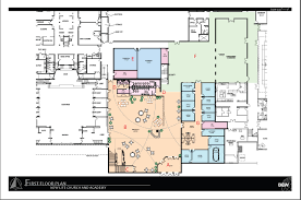 floor plan of cafeteria family ministry center new life church woodbury