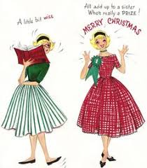 vintage merry christmas sister cards pictures pin