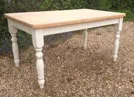 chunky farmhouse table legs chunky farmhouse table cream painted legs jules arkell vintage