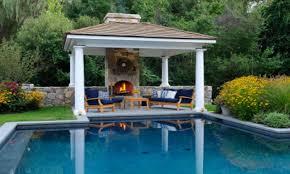 small outdoor kitchen design ideas backyard pool gazebo with