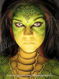 special effects makeup schools in pa reptile paint makeup and creepy costumes