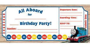 9 train birthday invitations for kid u2013 free printable templates