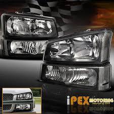 2003 chevy silverado fog lights black 2003 2006 chevy silverado 1500 2500 3500 head light signal