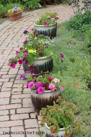Flower Planter Ideas by 21 Gorgeous Flower Planter Ideas Urn Planters And Limes