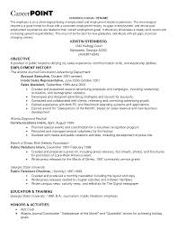 Public Relations Resume Examples by Sample Resume Employee Training P1 Click Here To View This Resume