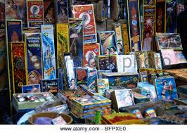 crackers shop diwali festival mumbai maharashtra india asia