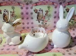 bunny cotton holder 11 best book club images on book clubs bath room and