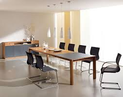 Dining Room Table Extensions by Extension Dining Room Table From Team 7 The Magnum Modern Dining
