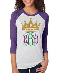 mardi gras shirts new orleans mardi gras shirt king cake monogram crown krewe shirt