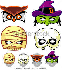 halloween masks stock images royalty free images u0026 vectors