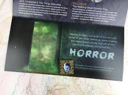 triple aaa halloween horror nights loot crate dx october 2016 subscription box review u0026 coupon